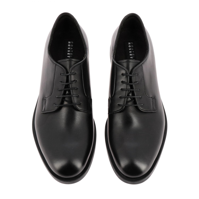 Brogue shoes men F.lli Rossetti One black 3
