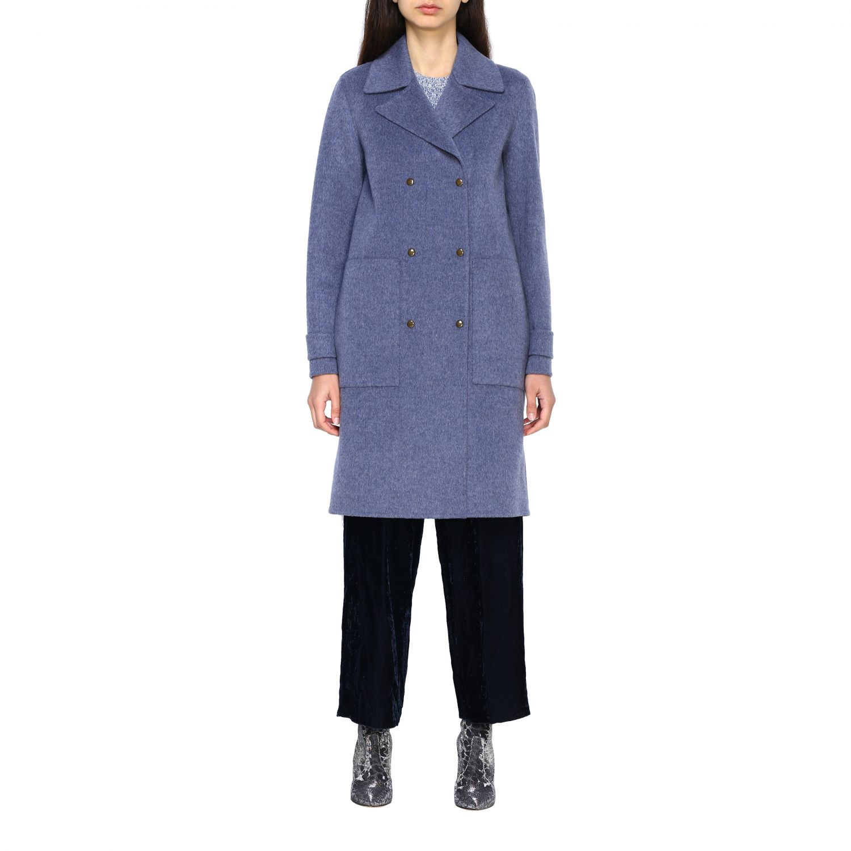 Coat women Theory blue 1