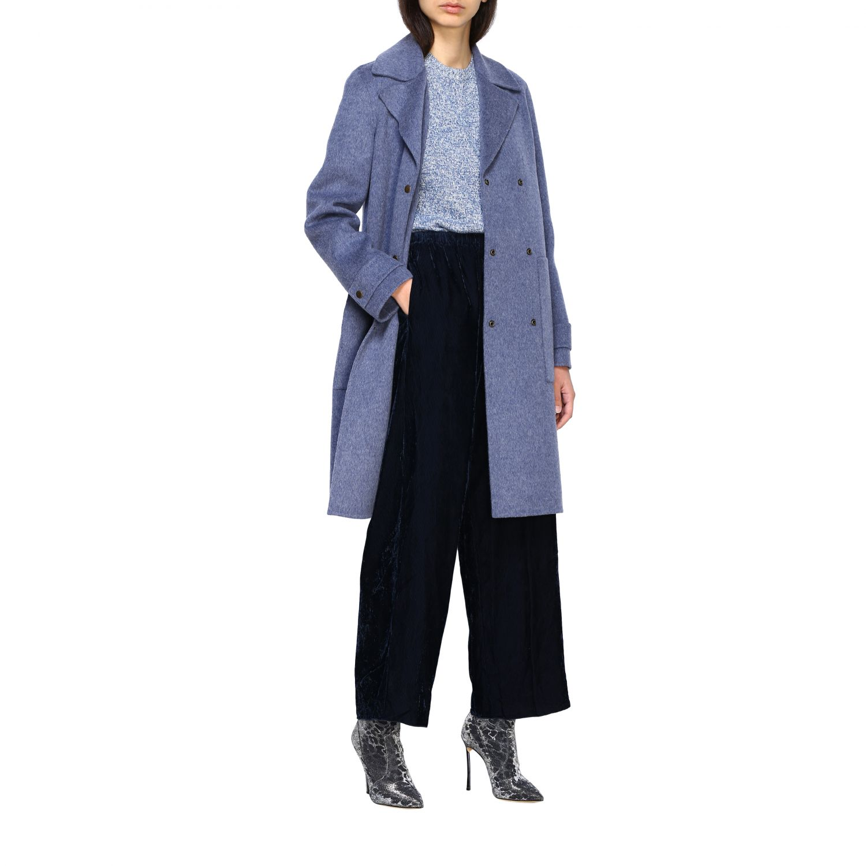 Coat women Theory blue 2