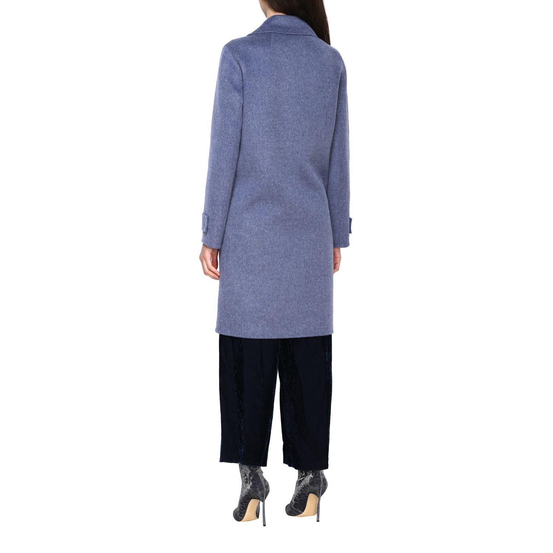 Coat women Theory blue 3