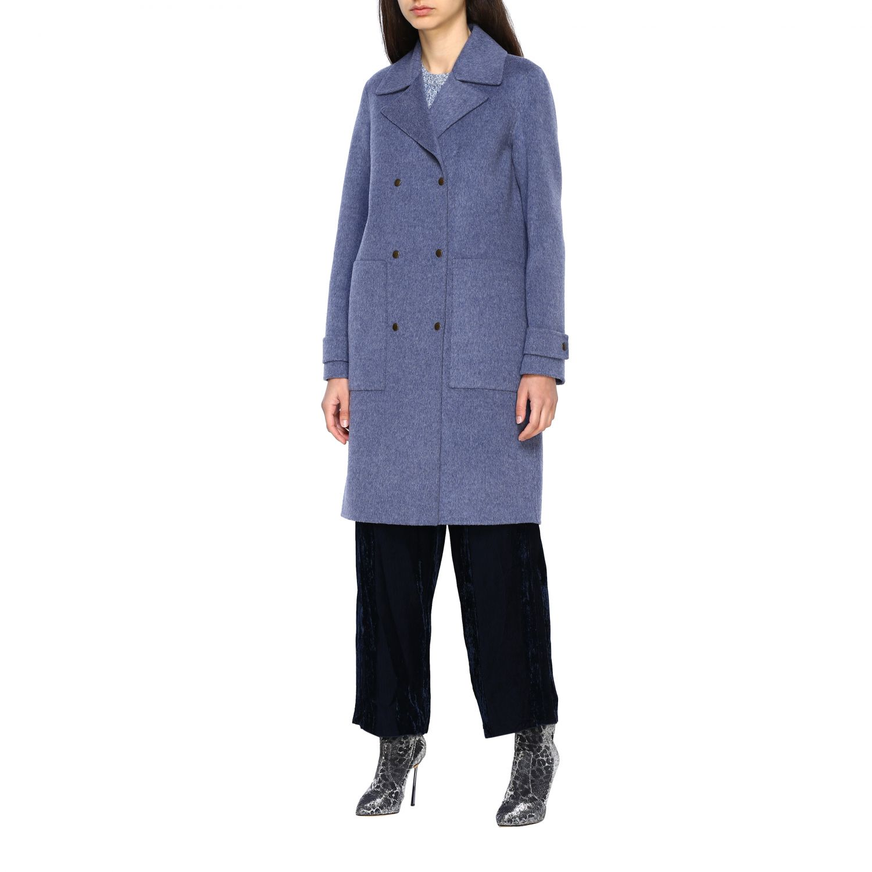 Coat women Theory blue 4