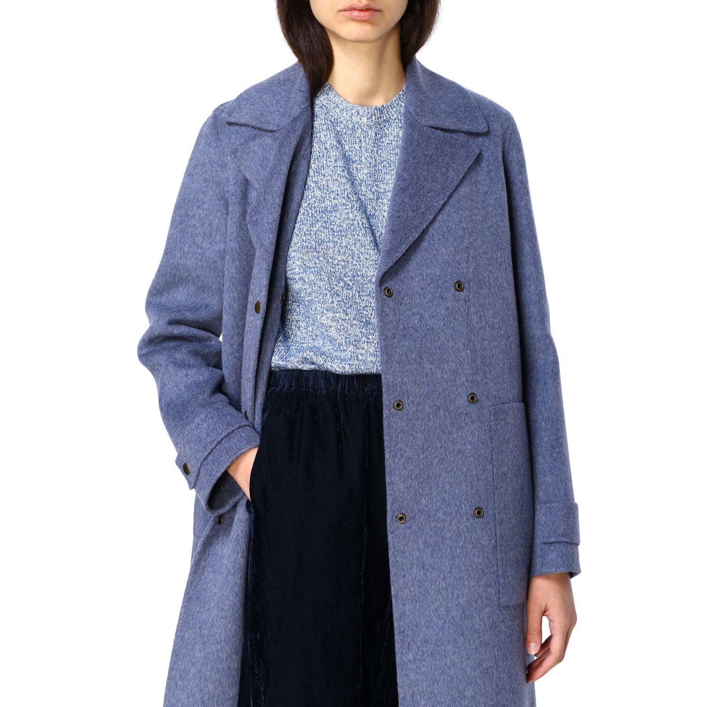 Coat women Theory blue 5