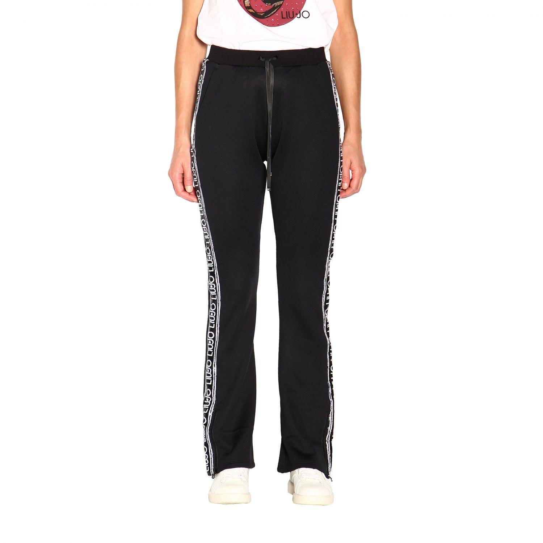 Pantalón Liu Jo: Pantalón mujer Liu Jo negro 1