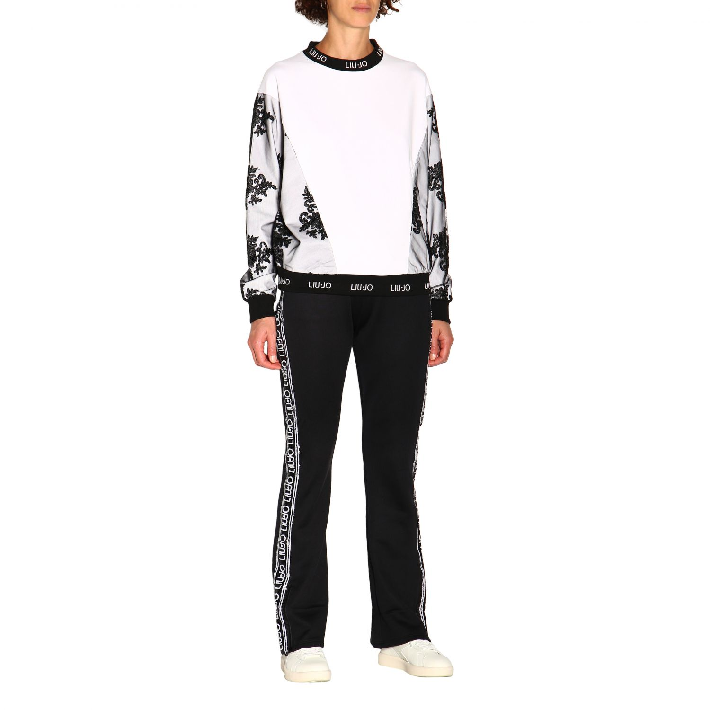 Pantalón Liu Jo: Pantalón mujer Liu Jo negro 2