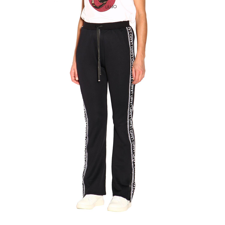 Pantalón Liu Jo: Pantalón mujer Liu Jo negro 4