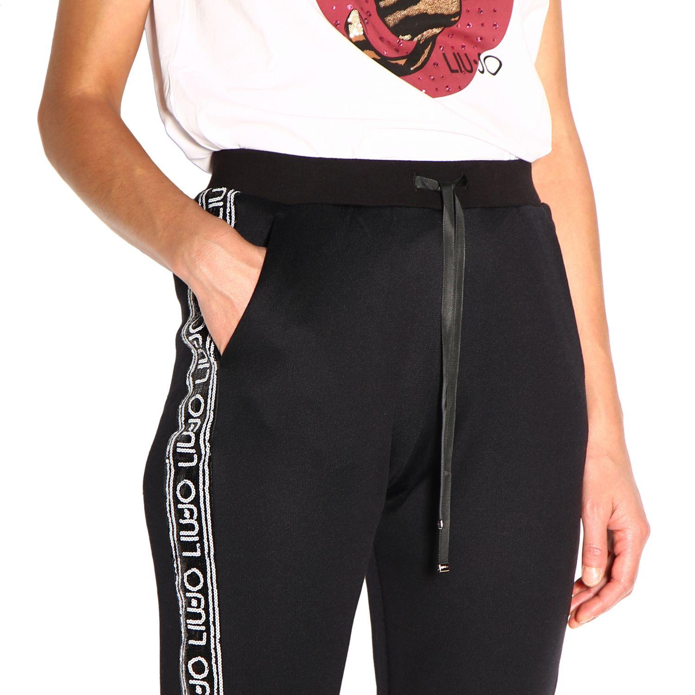 Pantalón Liu Jo: Pantalón mujer Liu Jo negro 5