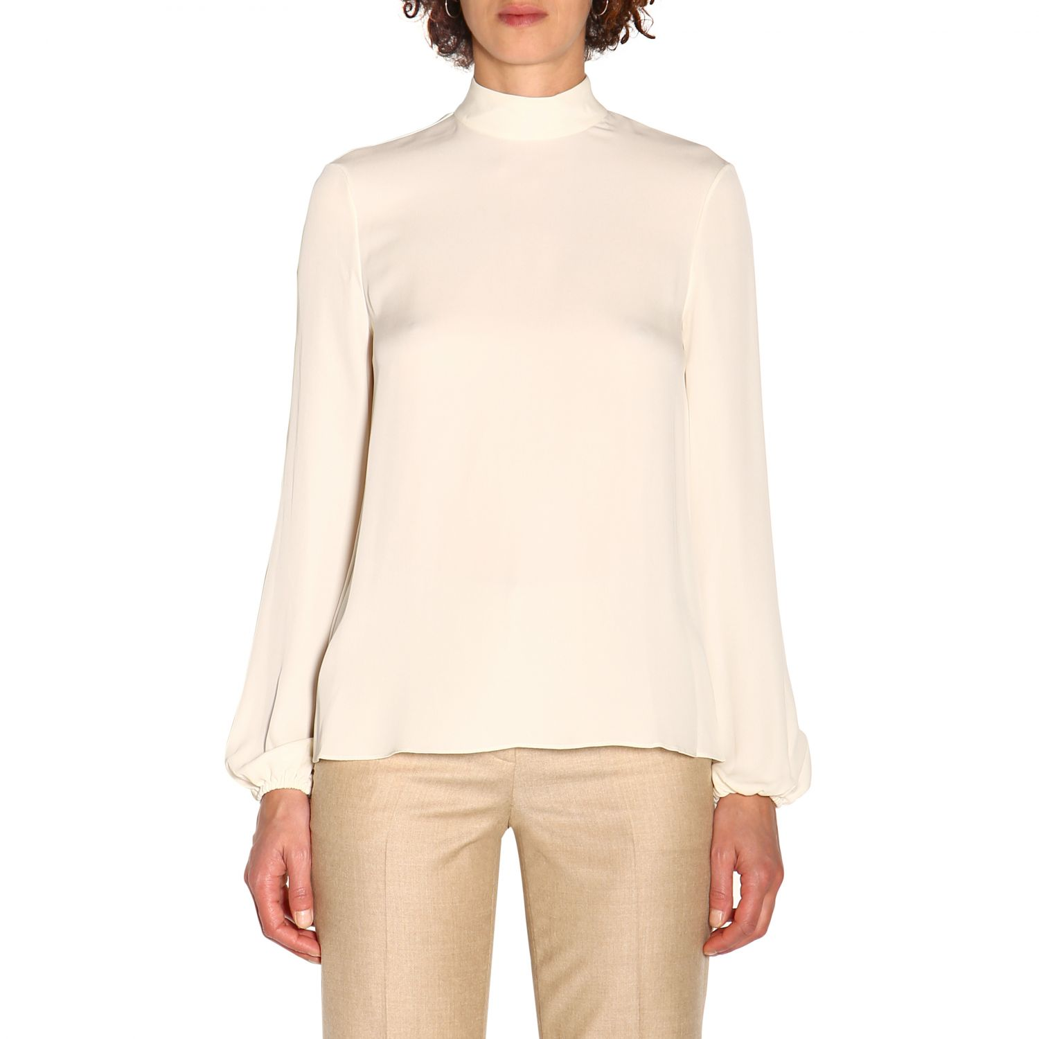 T-shirt women Theory ivory 1