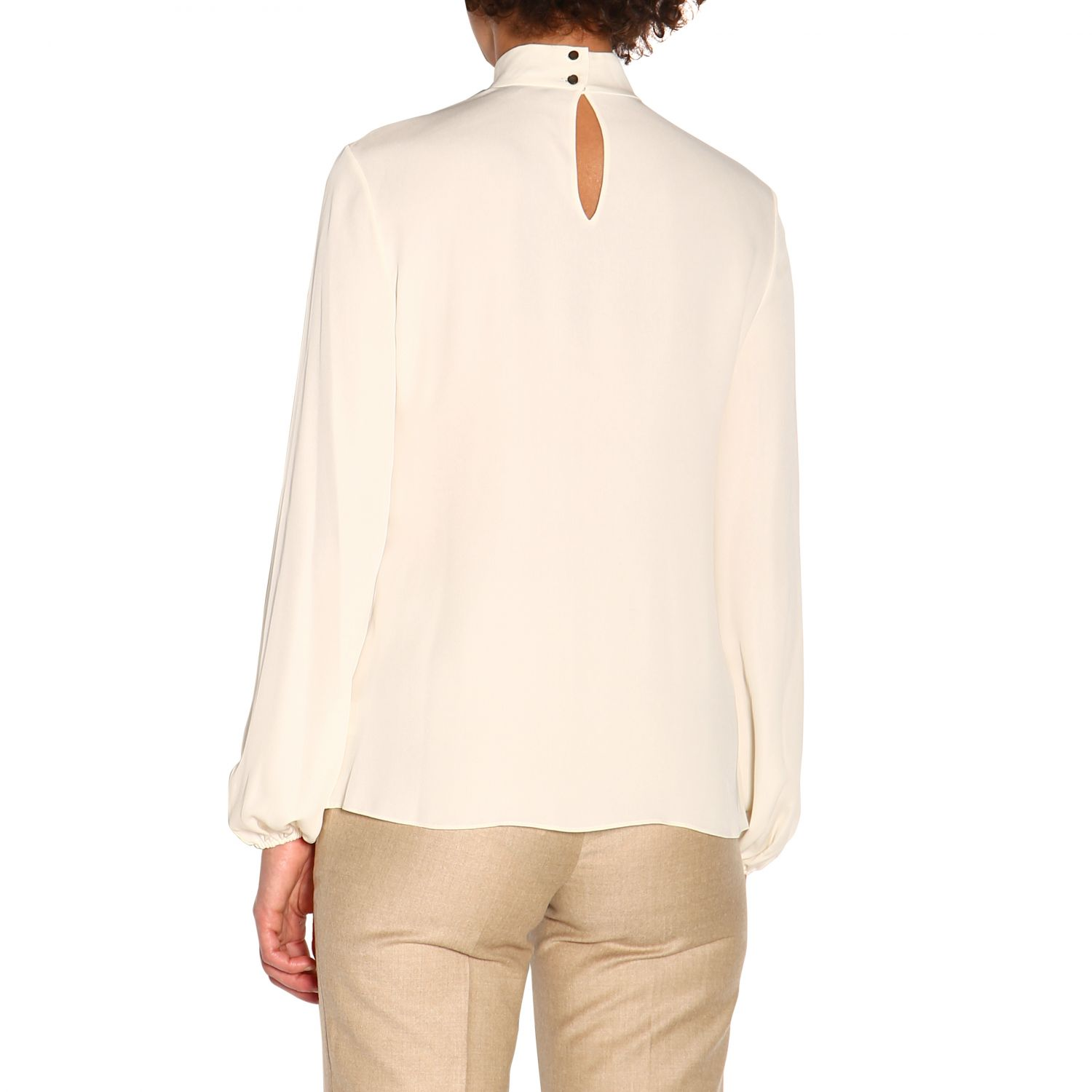 T-shirt women Theory ivory 3