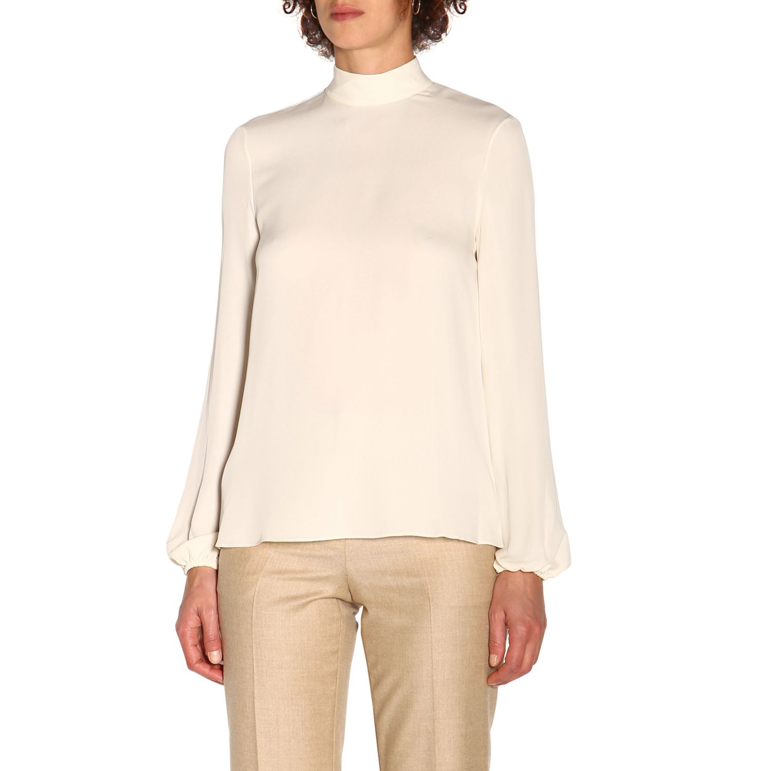 T-shirt women Theory ivory 4