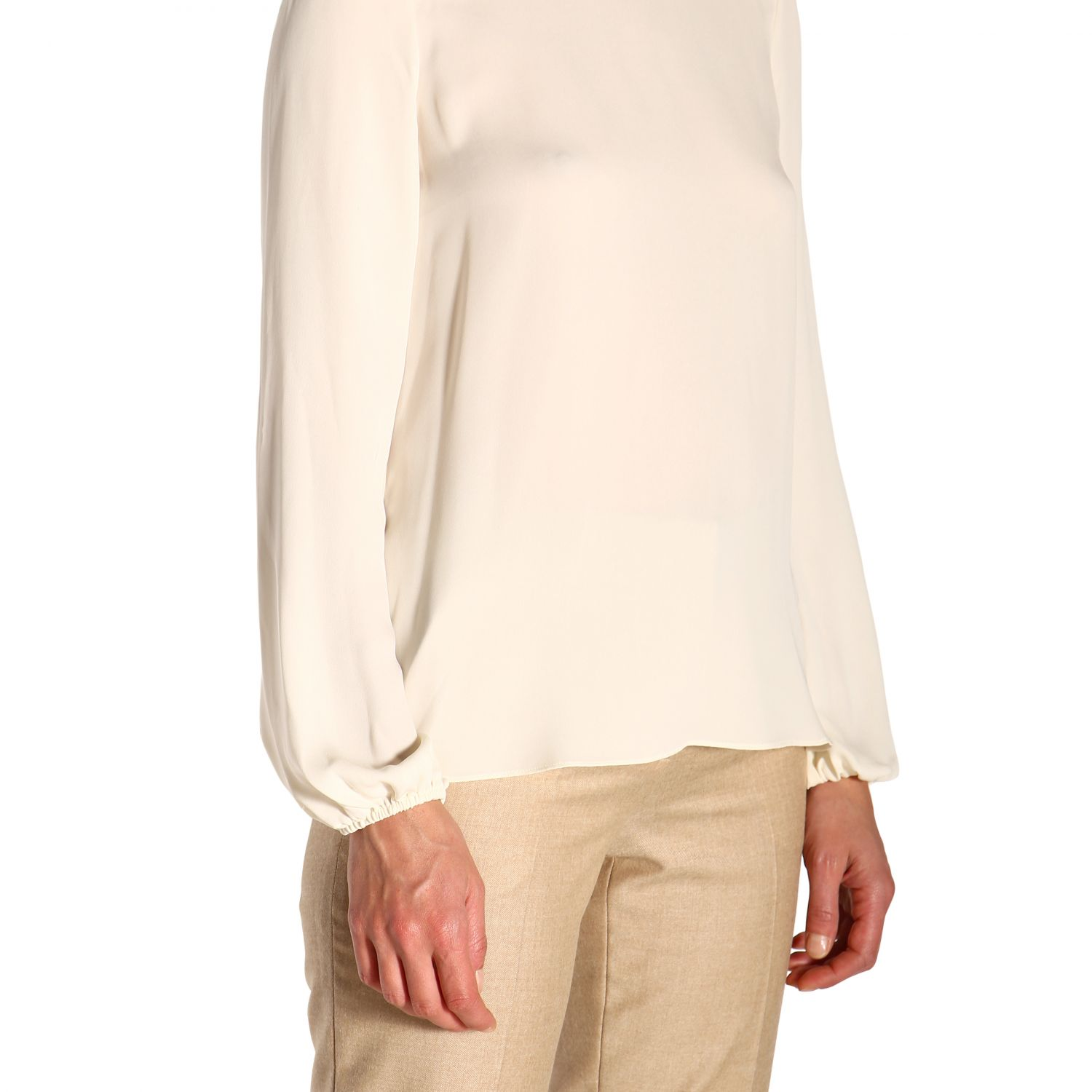 T-shirt women Theory ivory 5