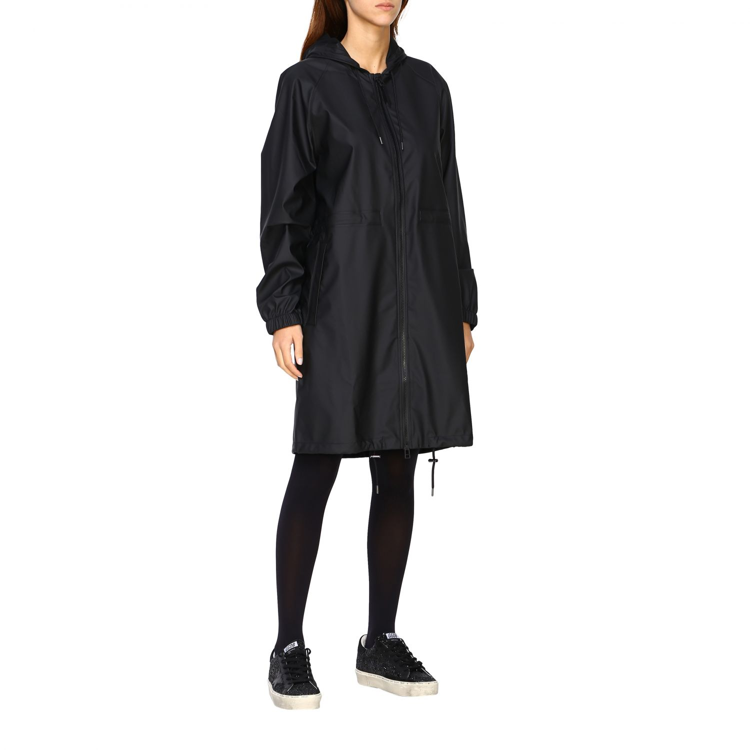 Cappotto Rains: Cappotto donna Rains nero 1