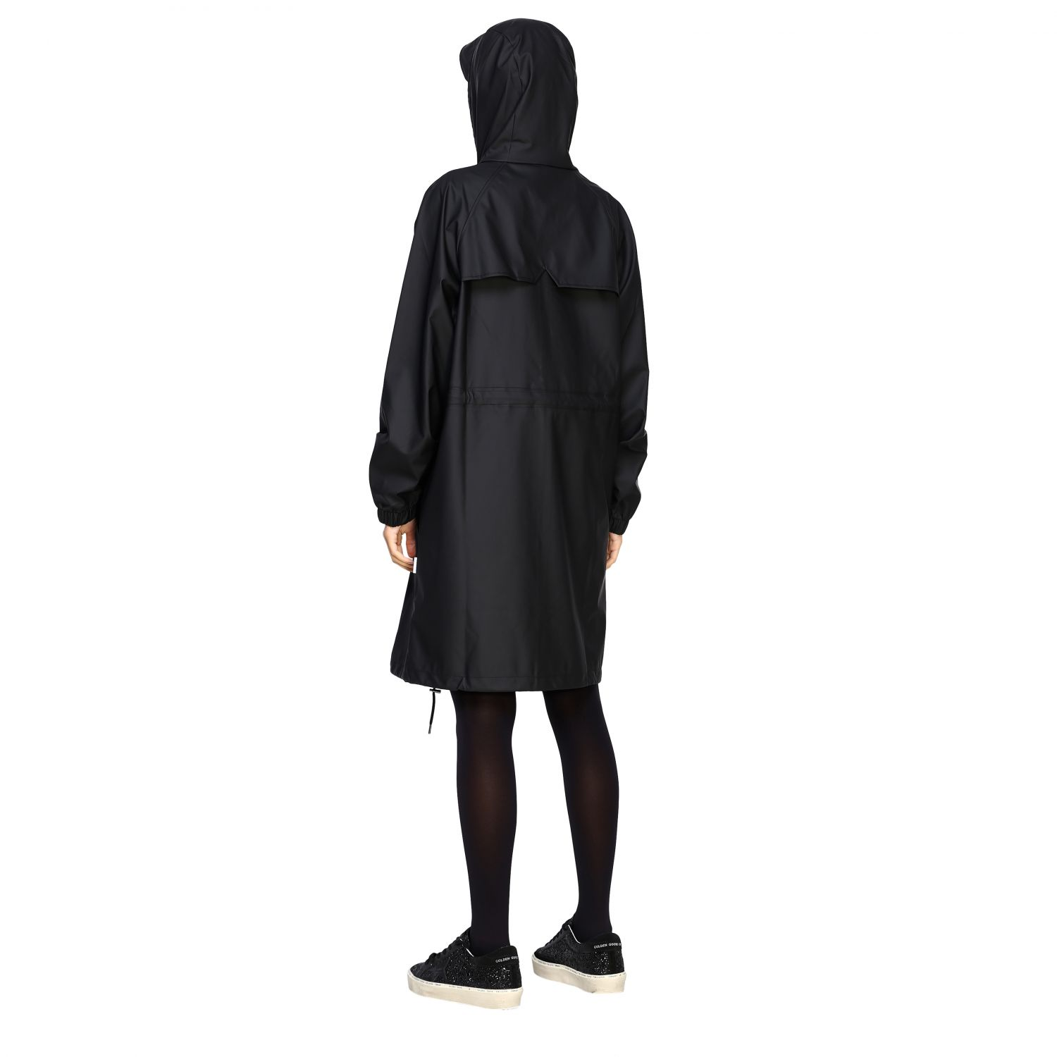 Cappotto Rains: Cappotto donna Rains nero 2