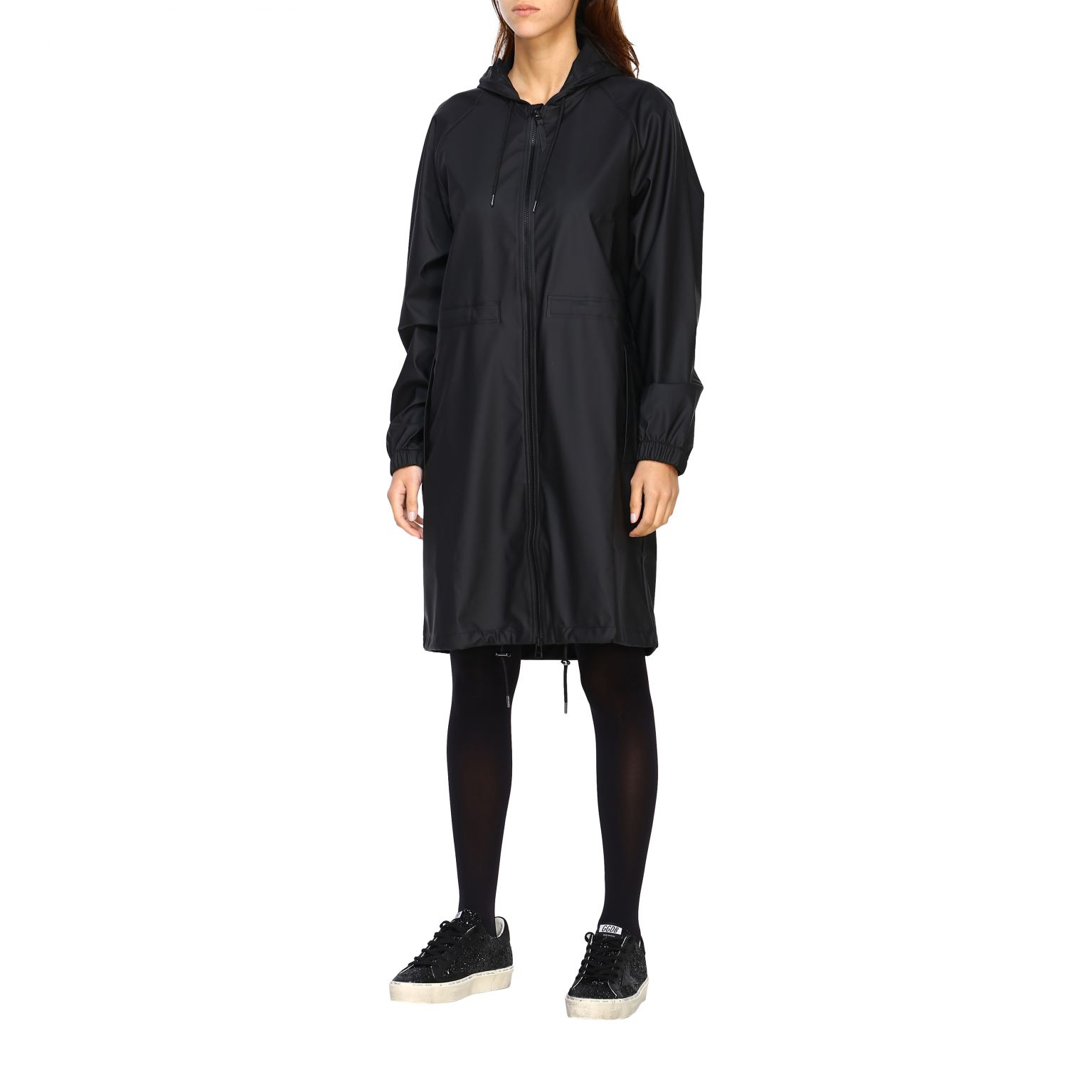 Cappotto Rains: Cappotto donna Rains nero 3