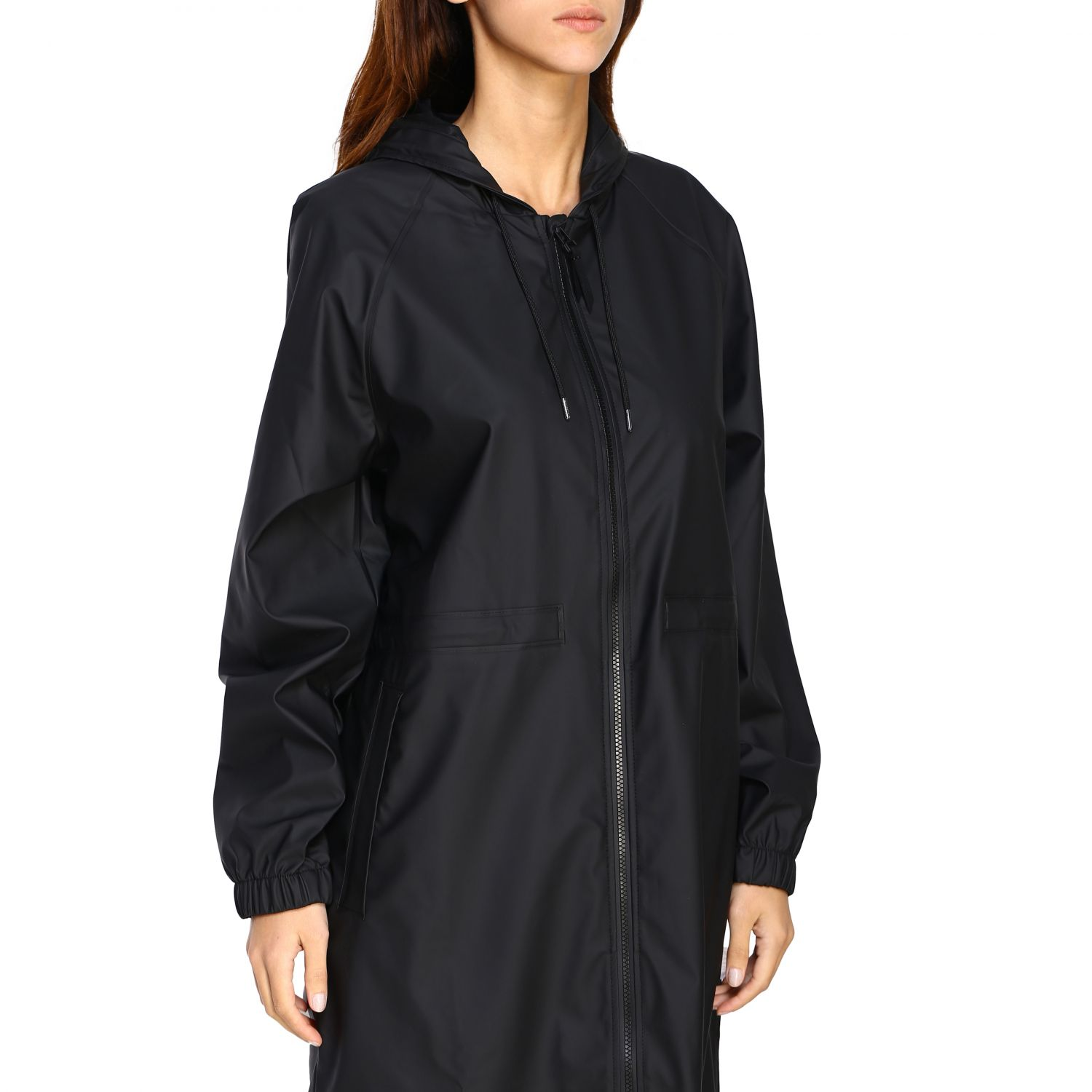 Cappotto Rains: Cappotto donna Rains nero 4