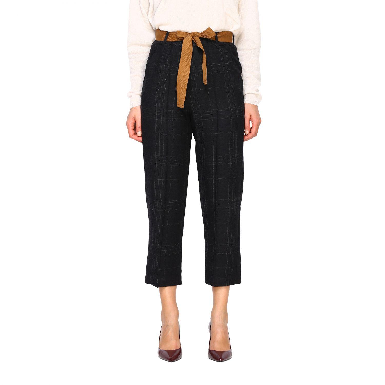 Pantalone Alysi: Pantalone donna Alysi antracite 1