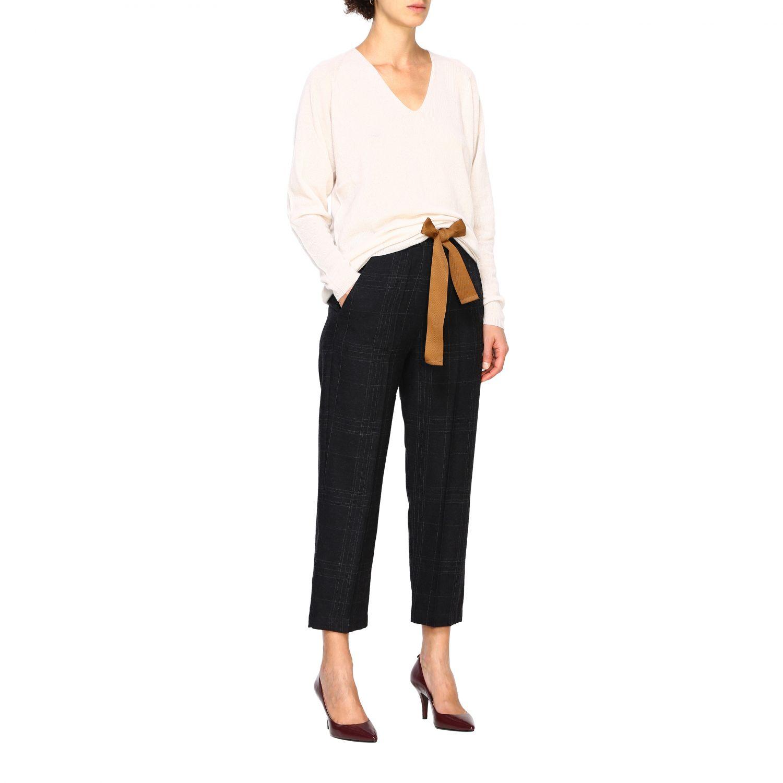 Pantalone Alysi: Pantalone donna Alysi antracite 2