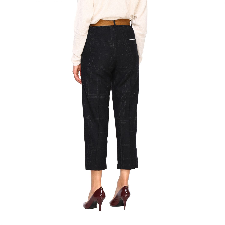Pantalone Alysi: Pantalone donna Alysi antracite 3