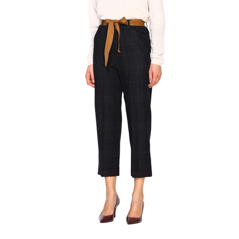 Pantalone Alysi: Pantalone donna Alysi antracite 4