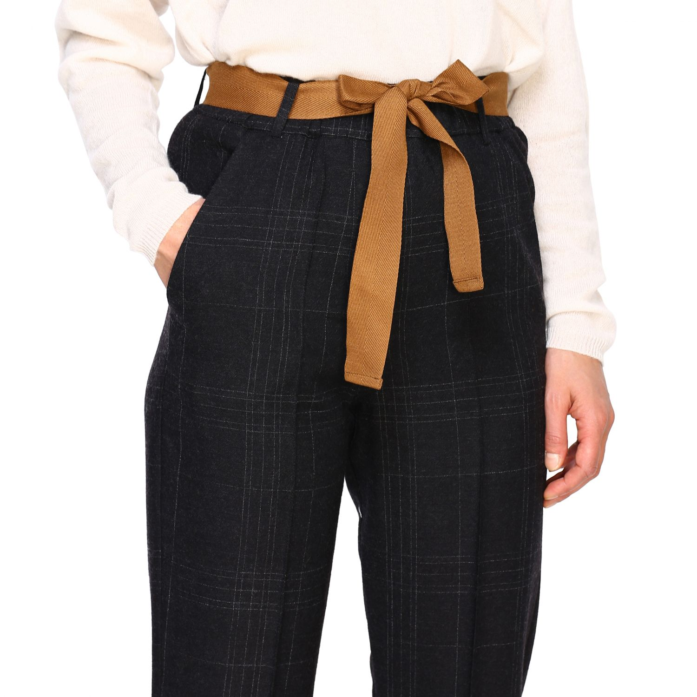 Pantalone Alysi: Pantalone donna Alysi antracite 5