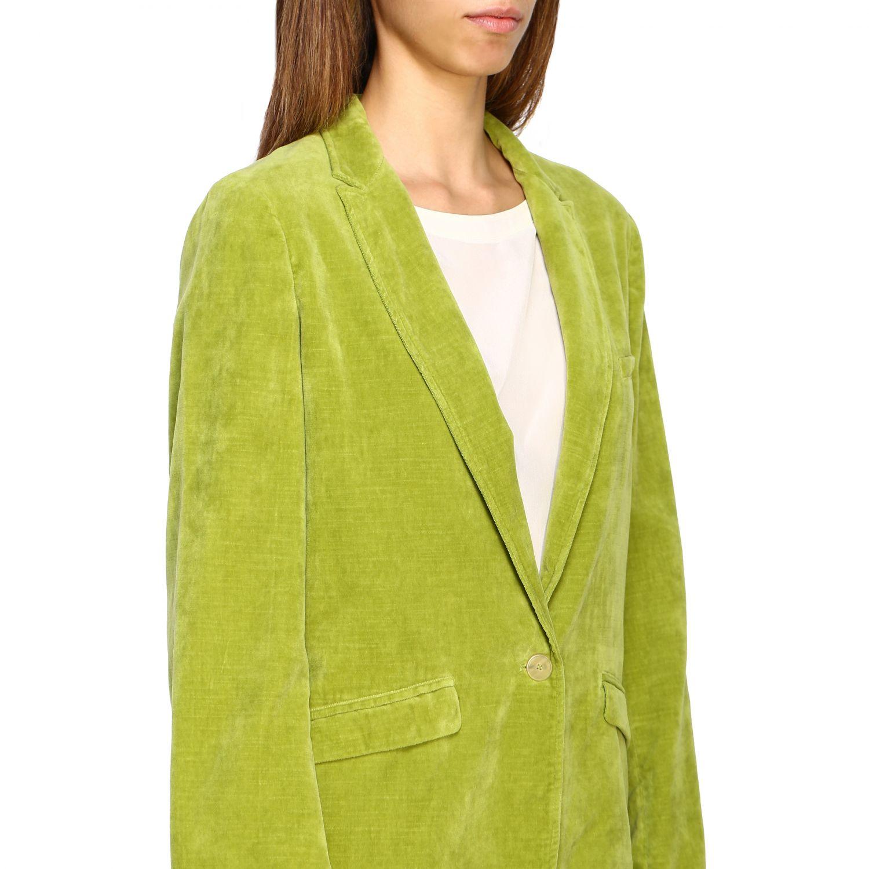 Jacke damen Forte Forte grün 5