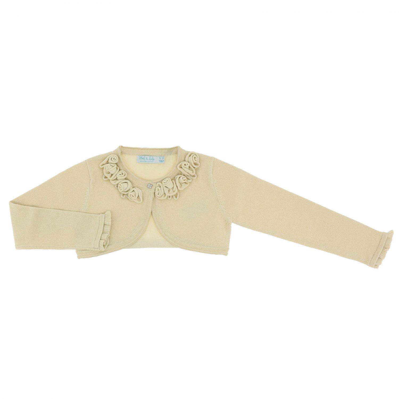 Sweater Abel & Lula: Jacket kids Abel & Lula gold 1