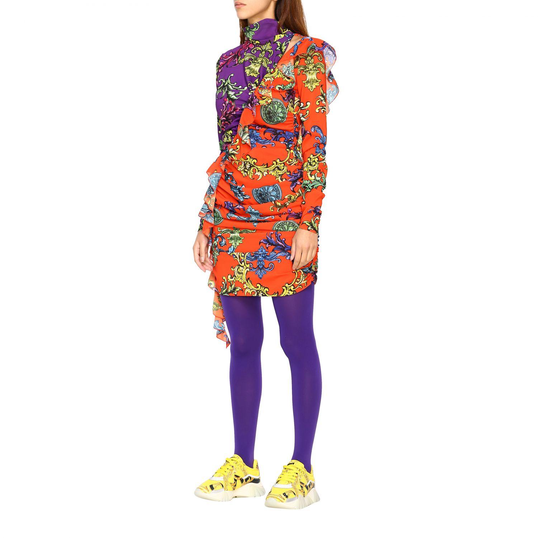 Robes Versus: Robes femme Versus multicolore 3
