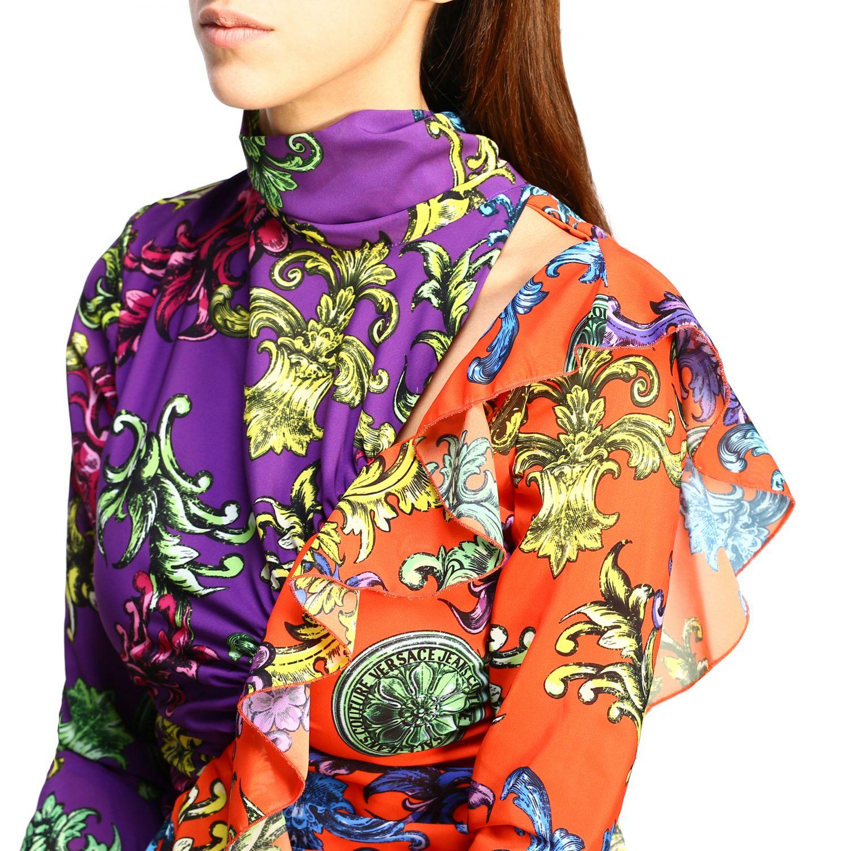 Robes Versus: Robes femme Versus multicolore 4