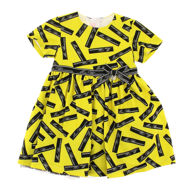 Robe enfant Miss Blumarine jaune 1