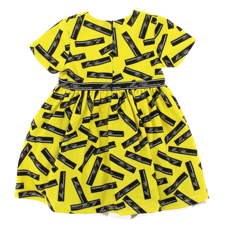 Robe enfant Miss Blumarine jaune 2