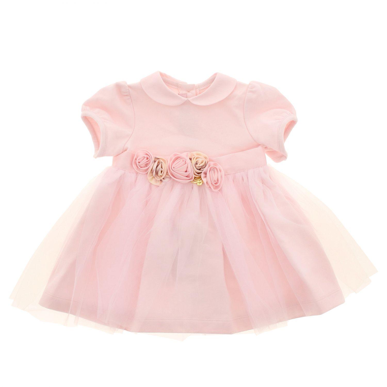 Dress kids Miss Blumarine pink 1