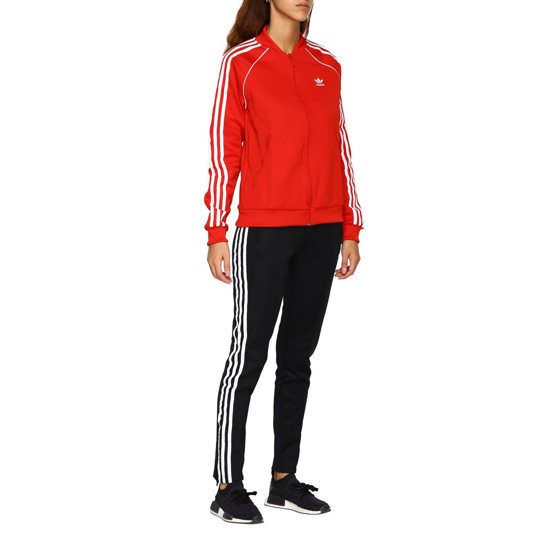 裤子 Adidas Originals: 裤子 女士 Adidas Originals 黑色 2