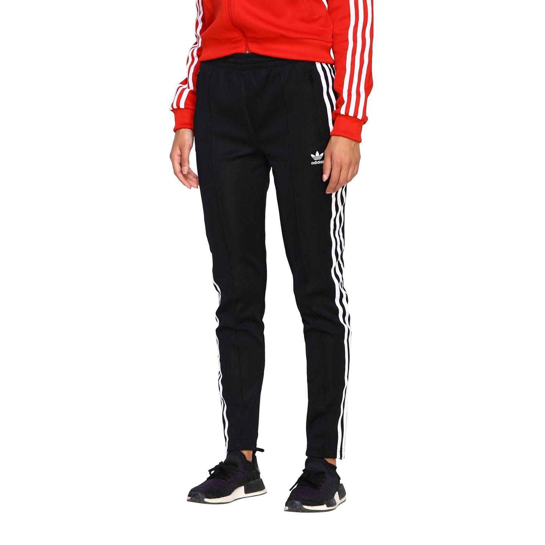 裤子 Adidas Originals: 裤子 女士 Adidas Originals 黑色 4