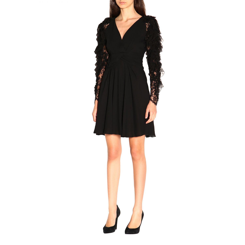 Vestido Alberta Ferretti: Vestido mujer Alberta Ferretti negro 3