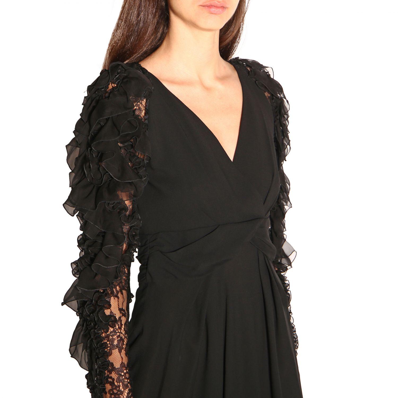 Vestido Alberta Ferretti: Vestido mujer Alberta Ferretti negro 4