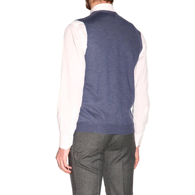 针织开衫 男士 Gran Sasso 浅蓝色 3