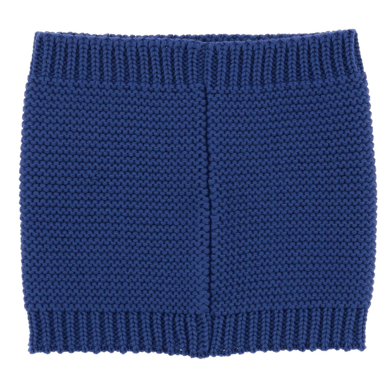 écharpe garçon enfant Catya bleu 2