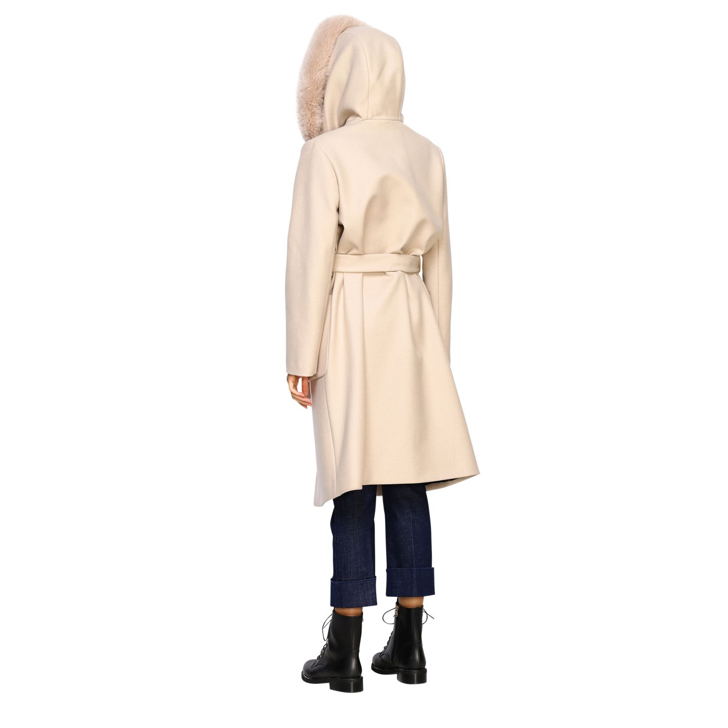Coat women Fay yellow cream 3