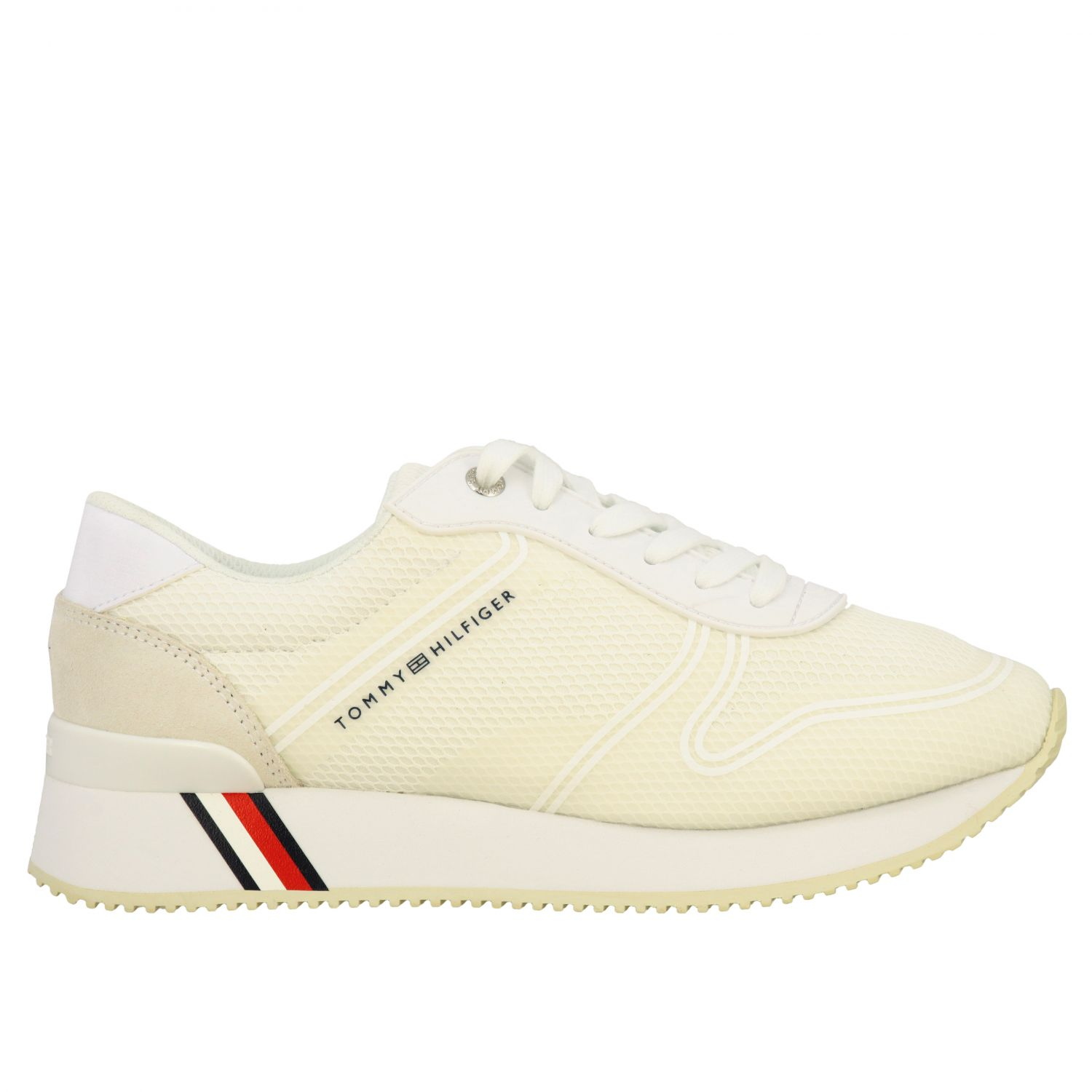 Sneakers donna Tommy Hilfiger bianco 1