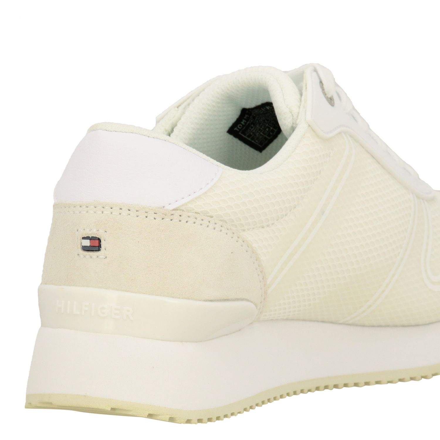 Sneakers donna Tommy Hilfiger bianco 5