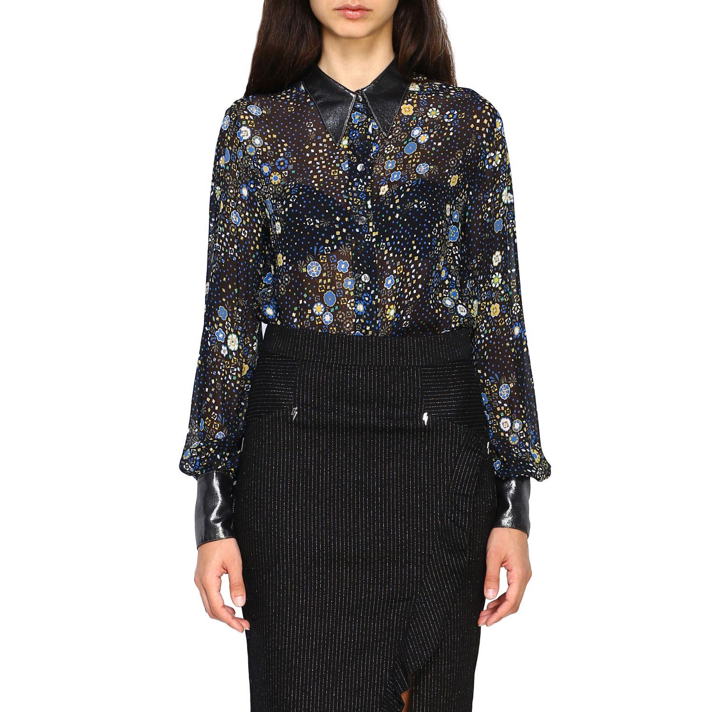 衬衫 8Pm: 衬衫 女士 8pm 黑色 1