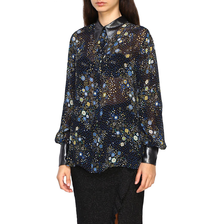 衬衫 8Pm: 衬衫 女士 8pm 黑色 4