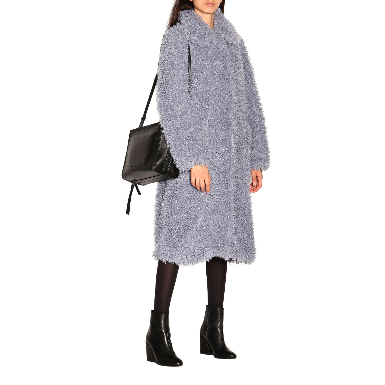 Coat women Stand blue 2