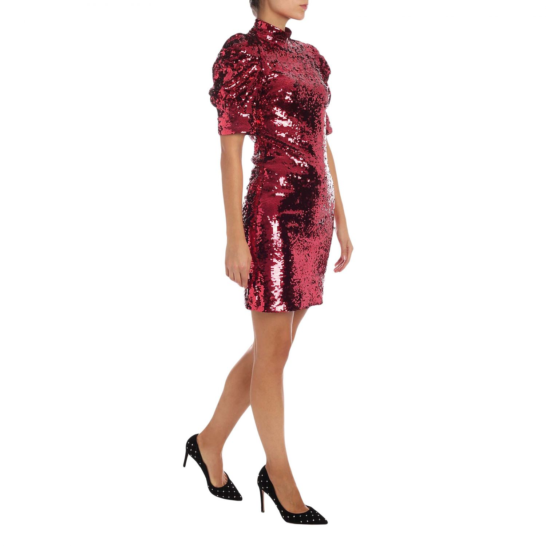 Dress Alice+Olivia: Dress women Alice+olivia burgundy 2