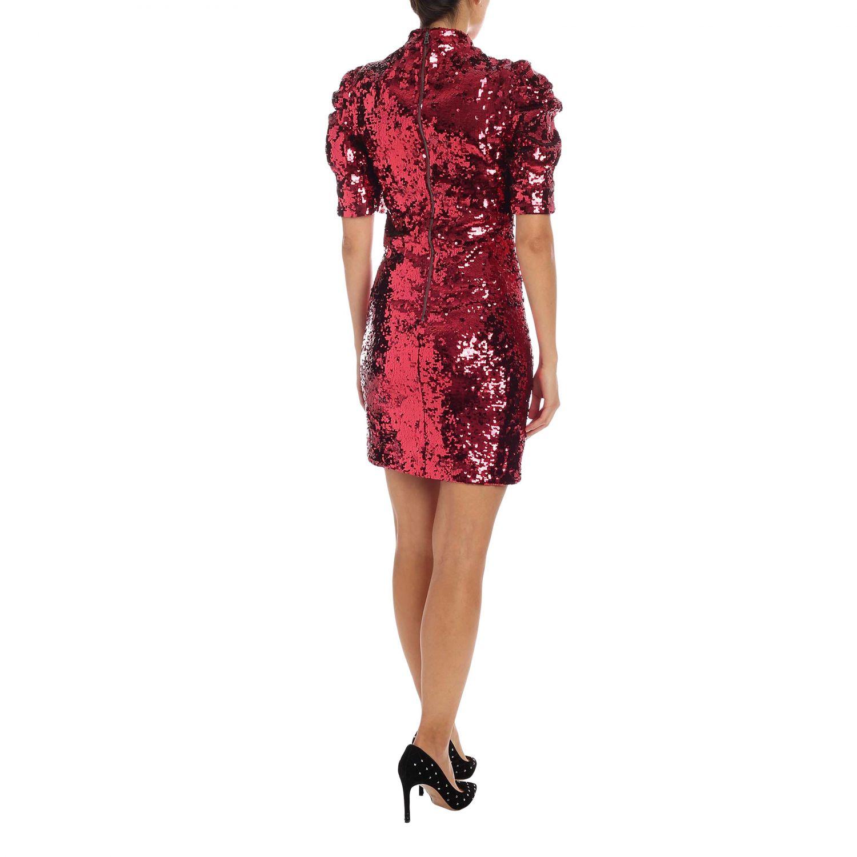 Dress Alice+Olivia: Dress women Alice+olivia burgundy 3