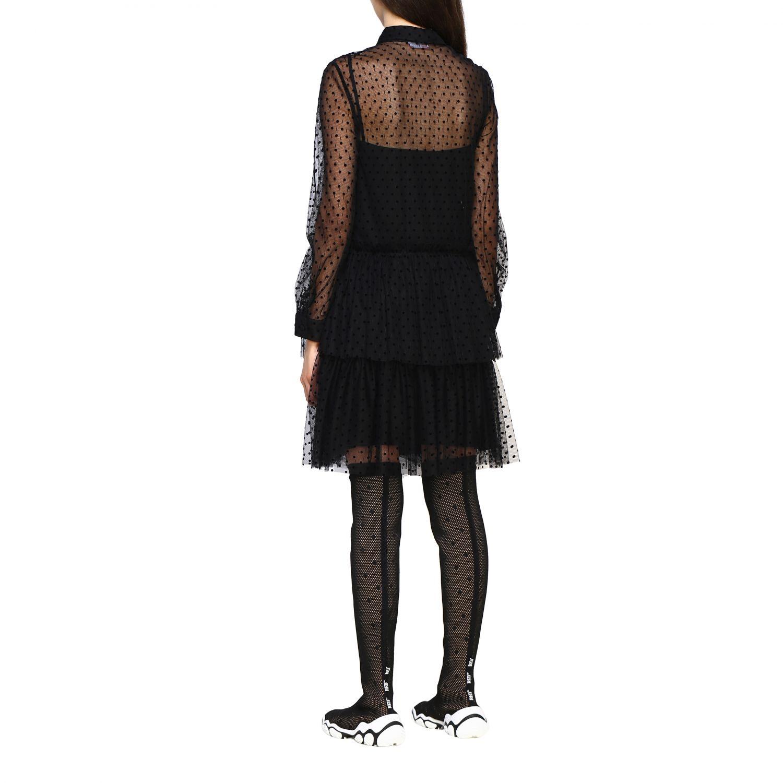 Vestido mujer Red Valentino negro 2