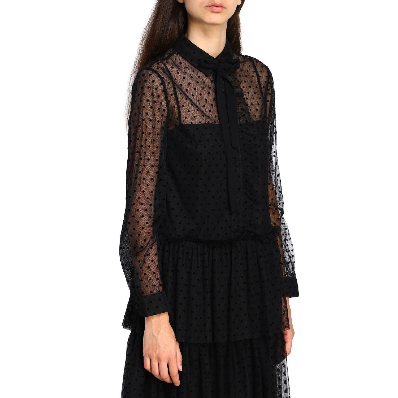 Vestido mujer Red Valentino negro 4