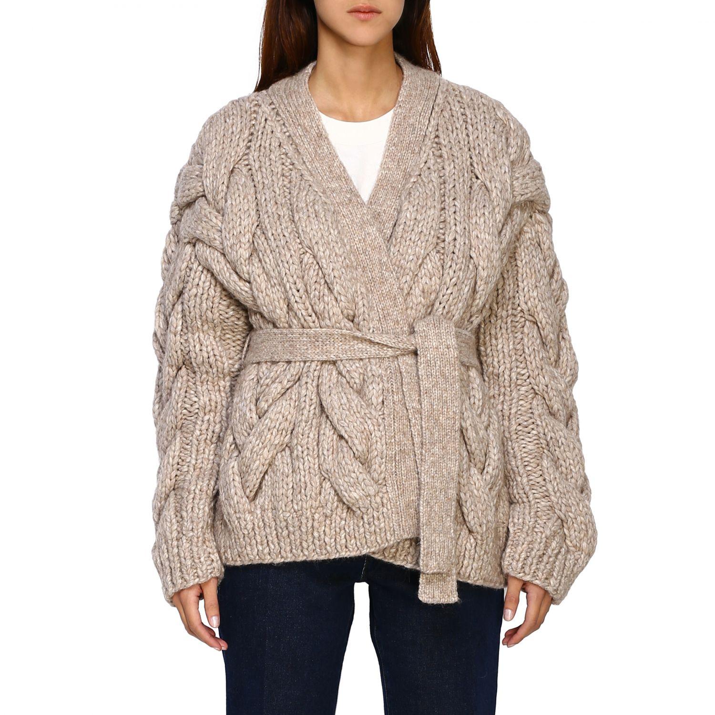 Cardigan Dsquared2: Sweater women Dsquared2 beige 1