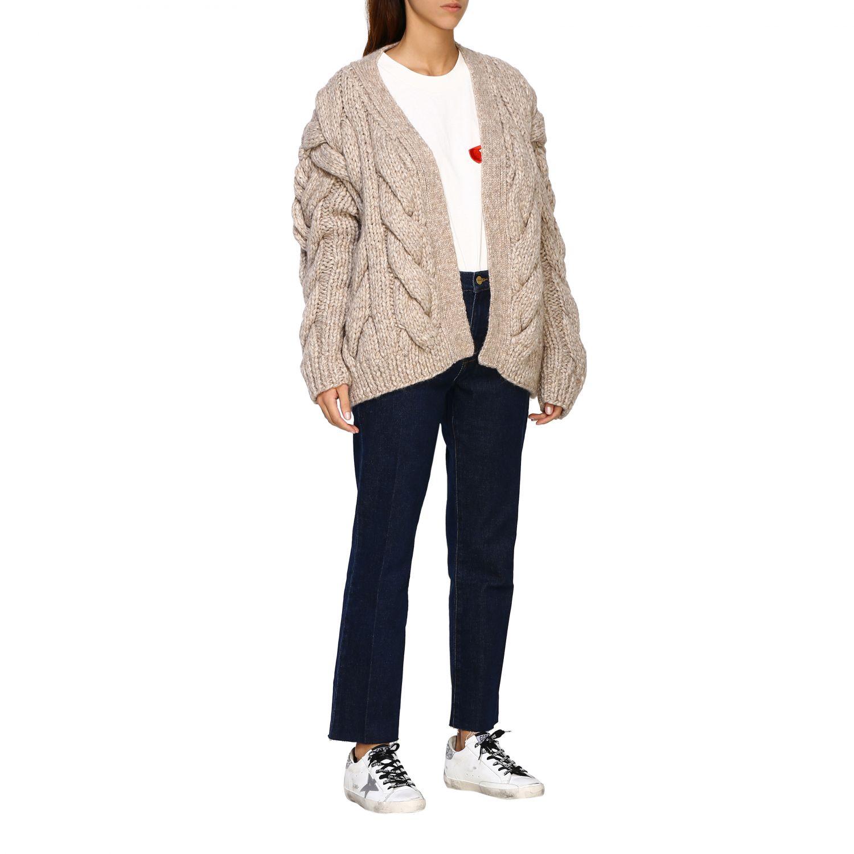 Cardigan Dsquared2: Sweater women Dsquared2 beige 2