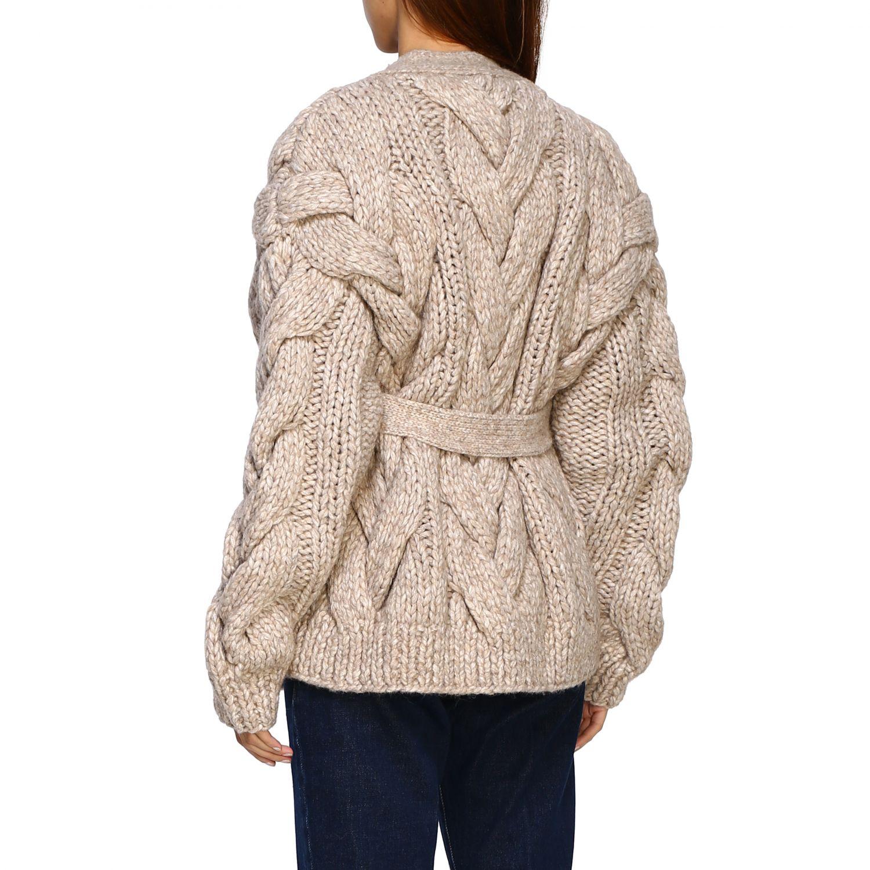 Cardigan Dsquared2: Sweater women Dsquared2 beige 3
