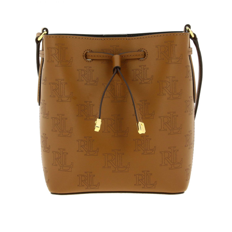 Handbag women Lauren Ralph Lauren brown 1